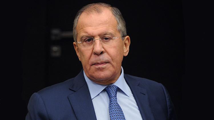"""Lavrov: """"En el tema de la crisis siria EE.UU. llega a los insultos públicos contra Rusia"""""""