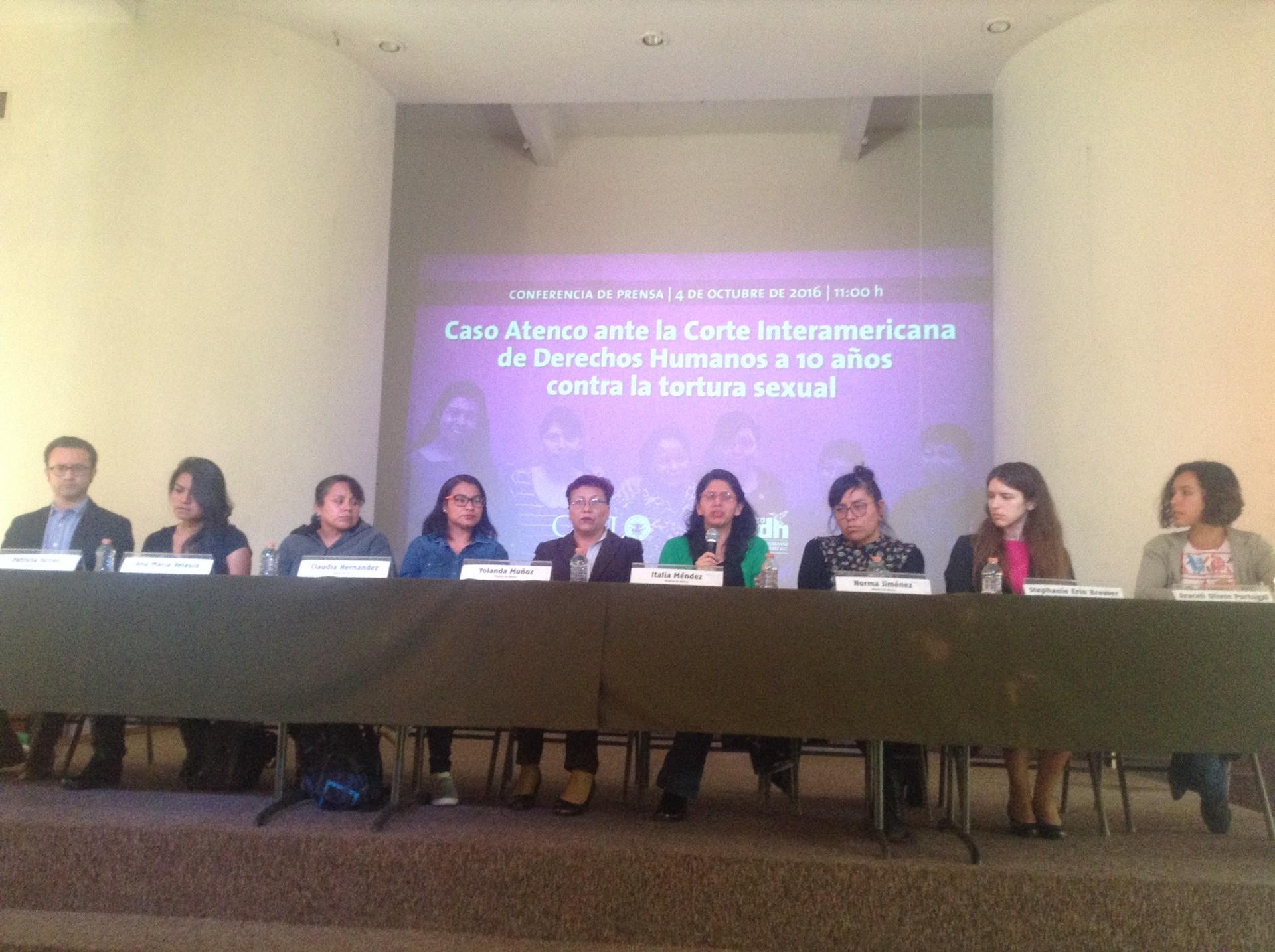 Mujeres que demandaron al Estado mexicano por lo ocurrido en Atenco alzan la voz