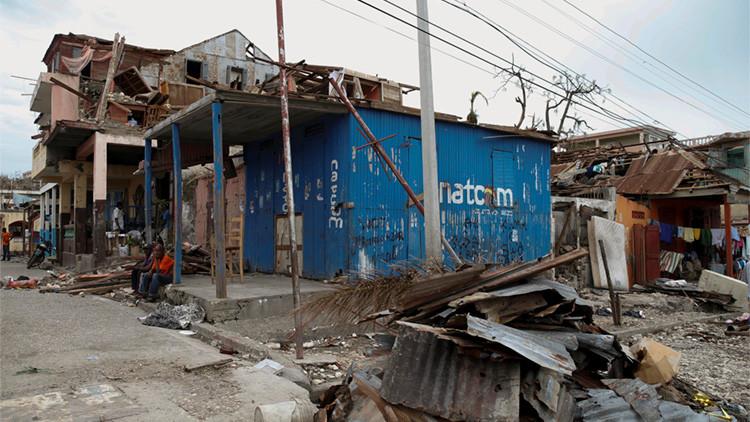 Los estragos del huracán Matthew a su paso por Jérémie, Haití
