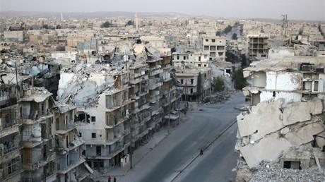Alepo, Siria, el 5 de octubre de 2016.