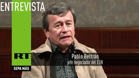 """Pablo Beltrán, jefe negociador del ELN: """"Hay una triple maduración"""""""