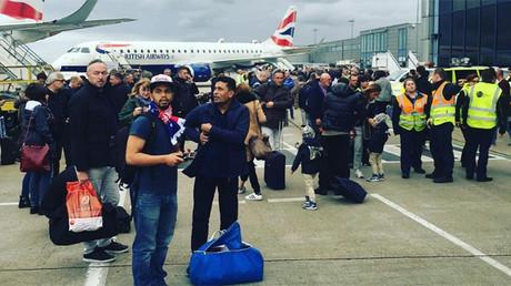 Pasajeros en el aeropuerto de la Ciudad de Londres, Reino Unido, el 21 de octubre de 2016.