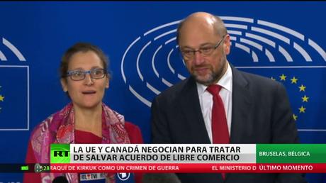 La UE y Canadá negocian para salvar el acuerdo de libre comercio