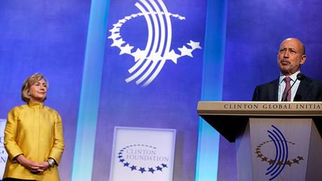 El director ejecutivo de Goldman Sachs, Lloyd Blankfein, durante su discurso en una conferencia de igualdad de género en Nueva York. 24 de septiembre de 2014.