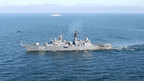La fragata rusa 'Yaroslav Mudry'