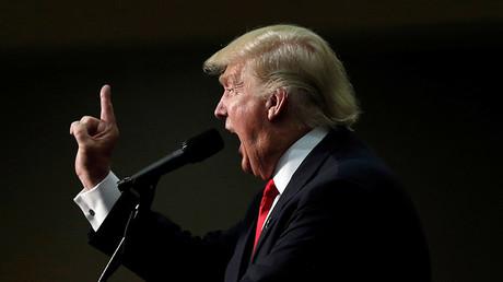 El candidato republicano a la presidencia de EE.UU., Donald Trump