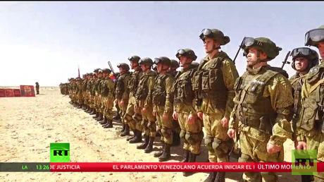 Se celebra la fase final de ejercicios antiterroristas internacionales en Egipto