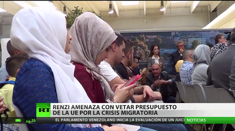 Italia amenaza con vetar el presupuesto de la UE por la crisis migratoria