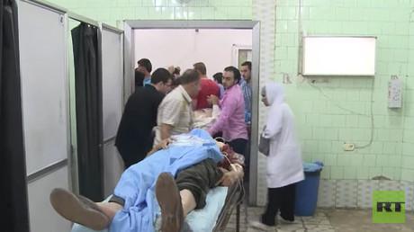 Así fue el brutal ataque terrorista contra una escuela en Alepo