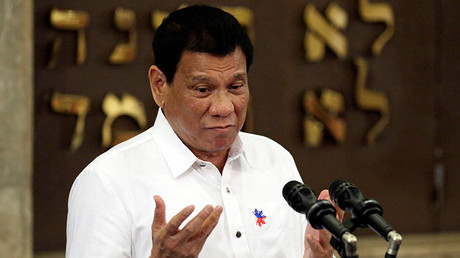 El presidente filipino Rodrigo Duterte