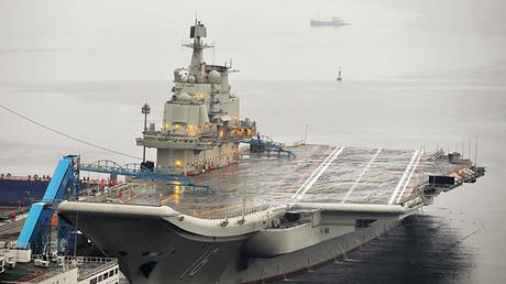 El portaaviones chino Liaoning.
