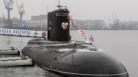 El submarino multifuncional ruso diésel-eléctrico Veliki Novgorod