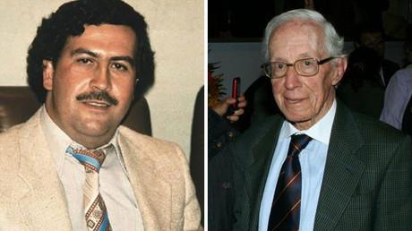 Izquierda: Escobar, derecha: De Greiff
