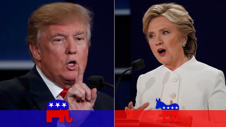Trump acorta distancias: La investigación de los correos de Hillary reduce su diferencia a un punto