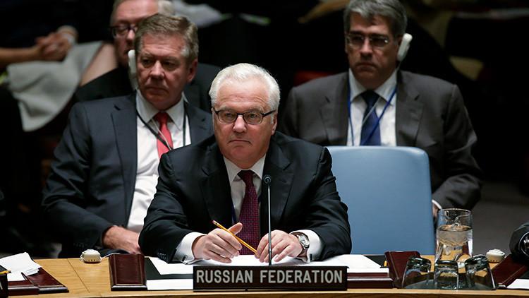 Rusia presenta en la ONU un documento sobre los presuntos 'crímenes' de EE.UU. en Siria
