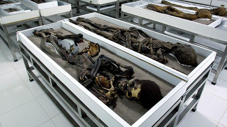 FOTOS: Las momias más antiguas del mundo 'se derriten' en Chile