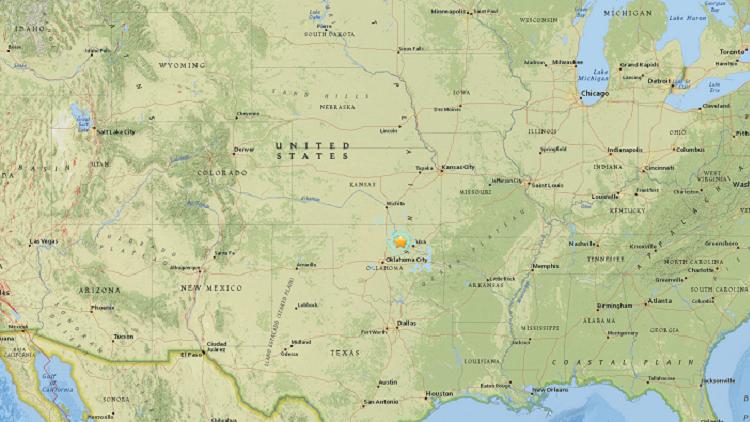 EE.UU.: Se registra un sismo de magnitud 4,5 en Oklahoma