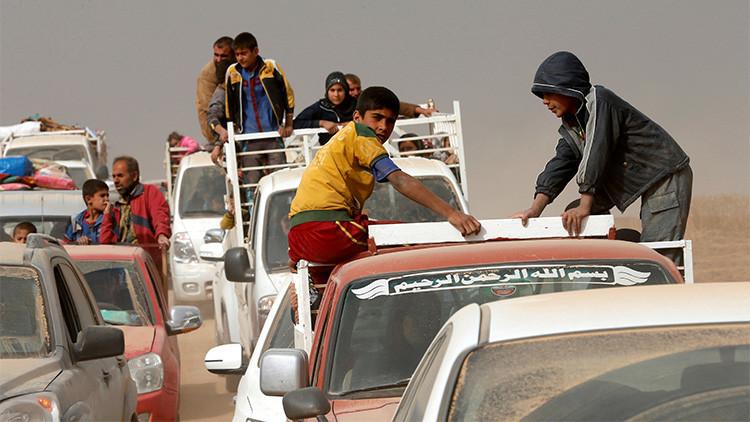 La batalla por Mosul: Evacuación de civiles en el bastión del Estado Islámico en Irak