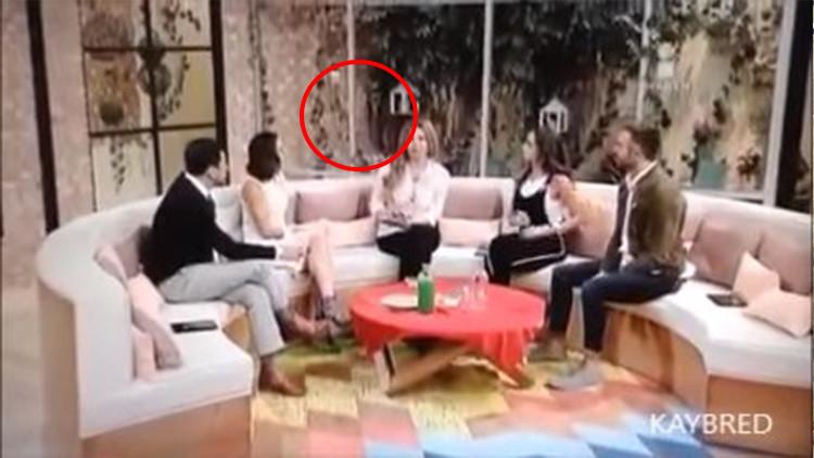 ¿Un fantasma? Una vidente vive un fenómeno paranormal en la televisión mexicana (Video)