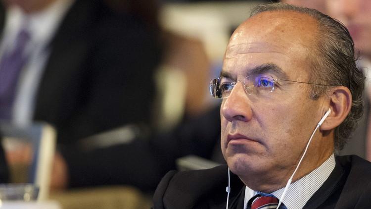 El expresidente mexicano, Felipe Calderón / Brendan McDermidReuters