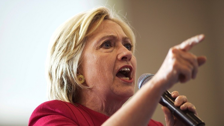 """""""¡Bill Clinton es un violador!"""": Interrumpen un mitin de Clinton, que pierde la paciencia (VIDEO)"""