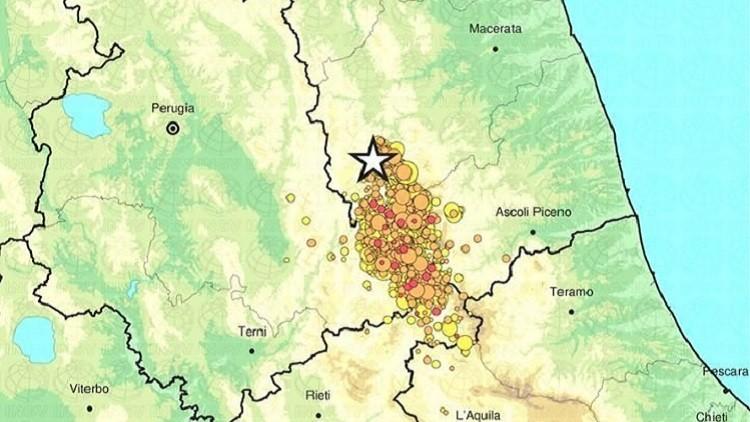 Un sismo de magnitud 4,8 vuelve a sacudir el centro de Italia