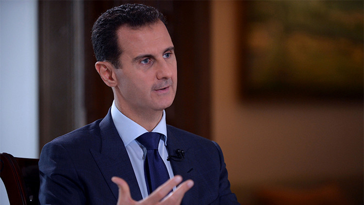 """Al Assad: """"Occidente busca la tregua solo cuando los terroristas son débiles"""""""