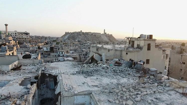 Extremistas emplean gas tóxico en Alepo