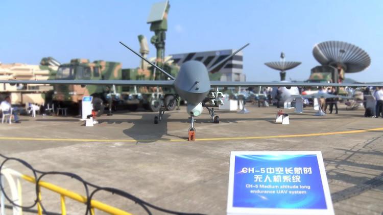 """VIDEO: Este dron de combate chino es """"más potente"""" que cualquiera de EE.UU."""