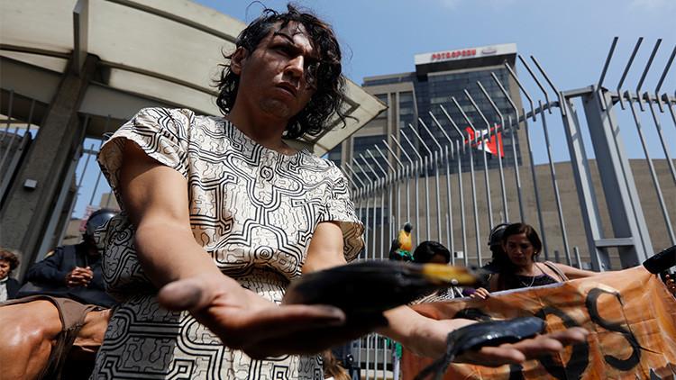 Un nuevo derrame de petróleo en la Amazonía pone en emergencia a Perú