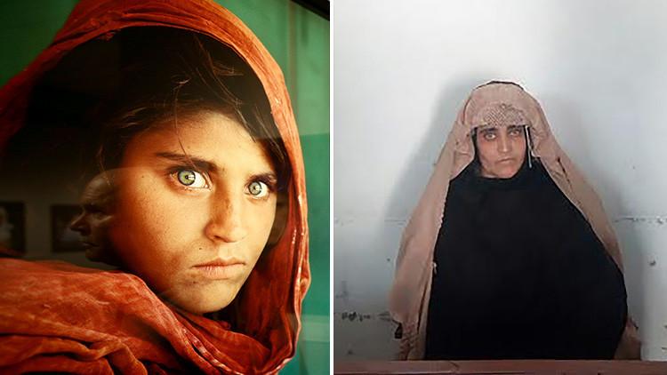 Pakistán deporta a la niña afgana de 'National Geographic'