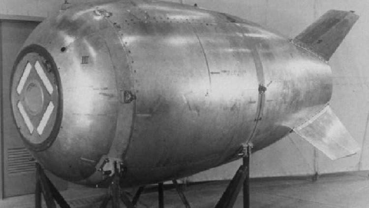 ¿Un misil nuclear perdido por EE.UU.? Un buzo descubre en el mar de Canadá un objeto enigmático