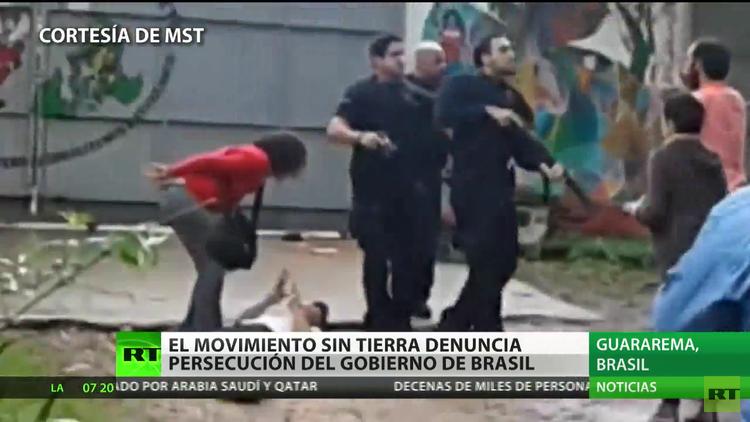 """""""Todos los movimientos sociales en Brasil sufren represión"""""""