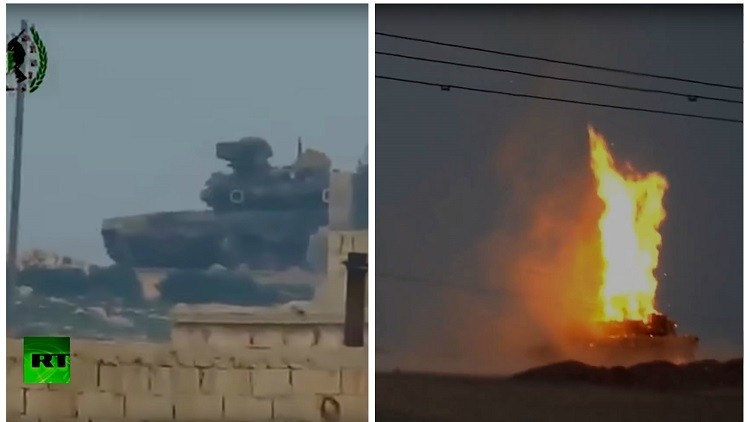 ¿El ruso T-90 o el M1 Abrams de EE.UU.?: Uno de estos tanques sale 'vivo' de un misilazo (VIDEOS)