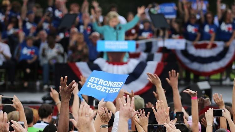Roban tres portátiles con datos de la agenda de campaña de Hillary Clinton