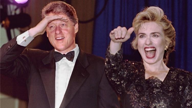'Estilo Hillary': Siete fotos raras de la candidata demócrata que no habíamos visto