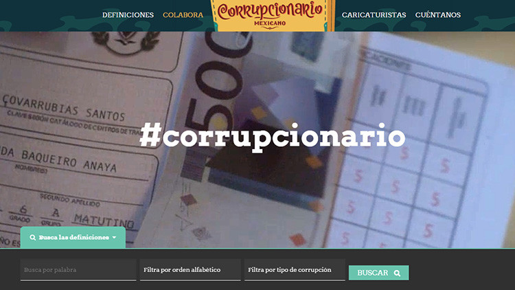 'Tranzas', 'chayotes', y otras corruptelas en México recopiladas en un diccionario ilustrado