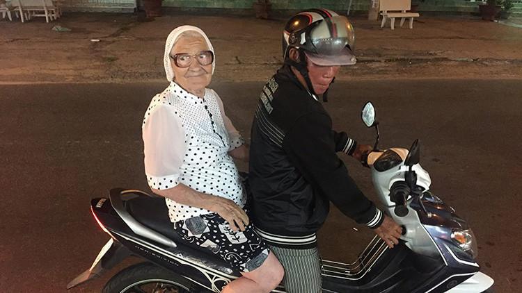 FOTOS: La 'superabuela' rusa de 89 años que viaja sola por el mundo