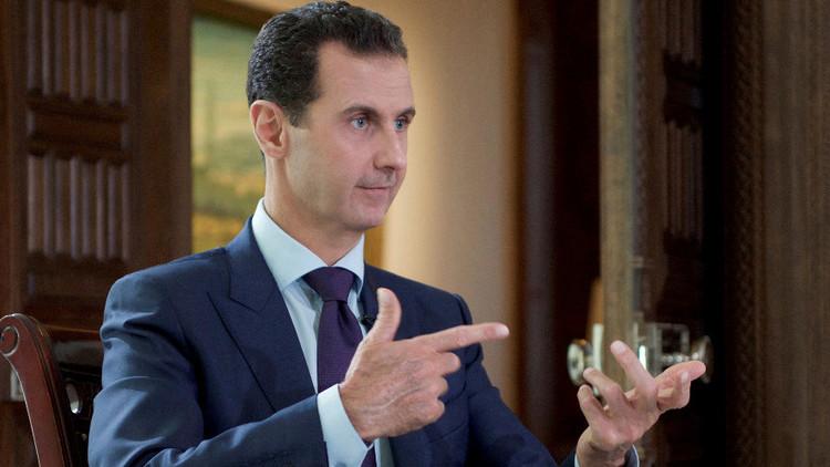 """Al Assad: El conflicto sirio es """"algo entre la Guerra Fría y la Tercera Guerra Mundial"""""""