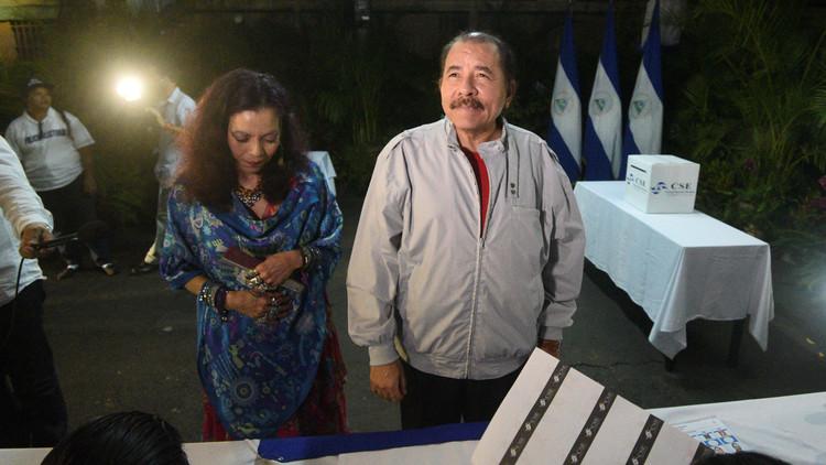 Daniel Ortega gana las elecciones en Nicaragua