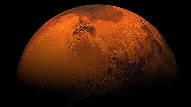 Foto: Hallan a una 'mujer' en Marte