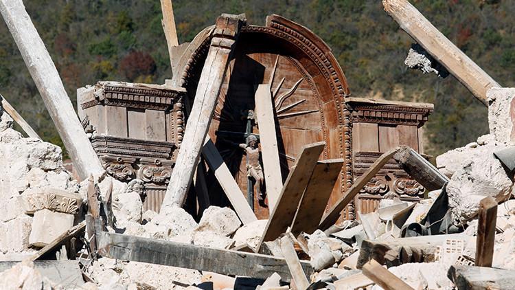 Roban un cuadro del siglo XVII tras los terremotos de Italia