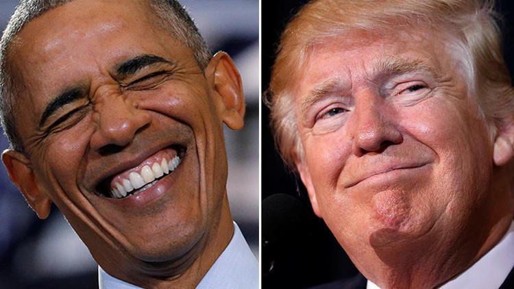 """Obama se burla de Trump: """"El que no puede manejar su Twitter no puede manejar códigos nucleares"""""""