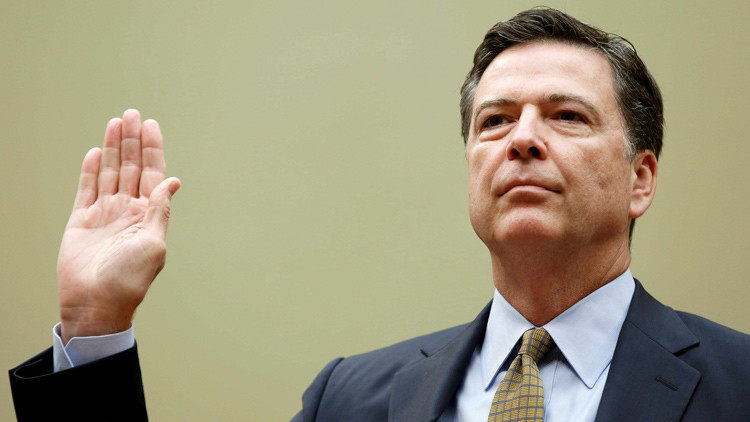 Director del FBI, James Comey.