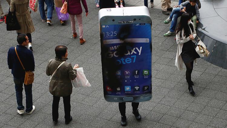 Esta vez no fue el Galaxy Note 7: estalla en Francia un modelo diferente de teléfono Samsung