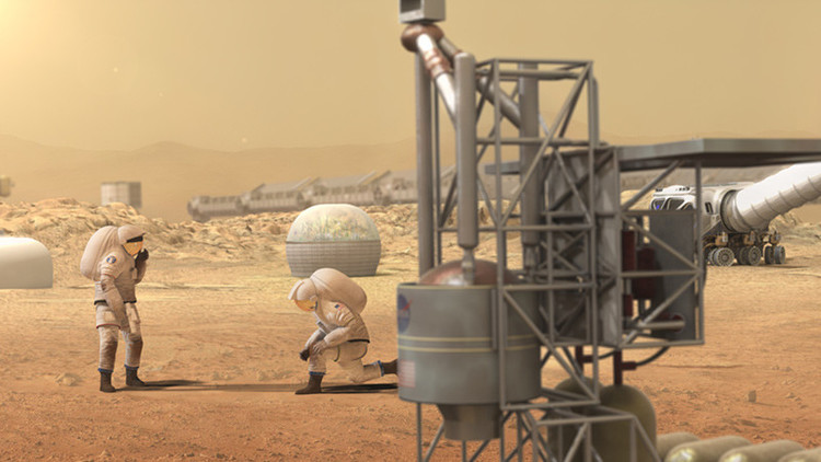 Así serán las casas en Marte (VIDEO)