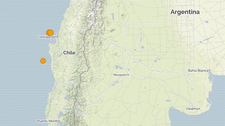 Diez temblores de hasta 5,9 sacuden varias regiones del sur de Chile