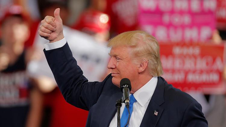 "Histórico: 'The New York Times' prevé por primera vez la ""muy probable"" presidencia de Trump"