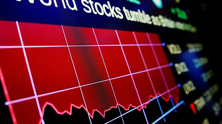 Más que después del 11-S: el Dow Jones cae casi 800 puntos