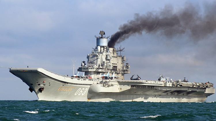 Detectan un submarino neerlandés que trató de acercarse a buques militares rusos en el Mediterráneo